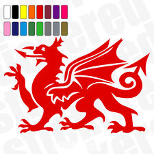 WELSH DRAGON CAR / VAN / CARAVAN / WINDOW STICKER / DECAL 150mm x 100mm CYMRU