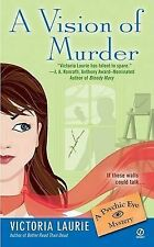 A Vision of Murder (Psychic Eye Mysteries),GOOD Book