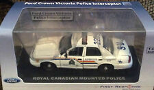Royal Canadian Mounted Police 2007 Ford  Police Cruiser First Response RCMP