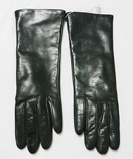 Portolano Dark Grey Nappa Leather/Cashmere Lined Ladies Gloves RN 6299 Size 7