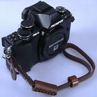 Brown Leather Camera Hand Wrist Strap for EVIL ILDC MILC Micro-SLR Small Camera