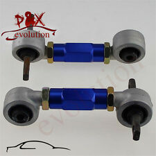 Rear Adjustable Camber Arms Kit for Honda CIVIC 92-95 Acura Integra EG/EK blue
