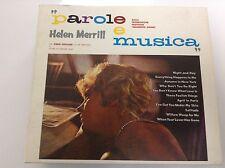 Helen Merrill - Parole e Musica (2001) DIGIPAK CD