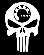 BRP PUNISHER decal Can-am Ski-Doo Summit Outlander Maverick Renegade Snowmobile