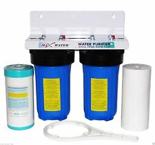 "Whole House Water Filtration System 10"" x 4.5"" for Municipal / Well Water supply"