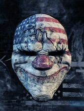 POSTER PAYDAY 2 THE HEIST PAY DAY DALLAS HOXTON CHAINS WOLF PS3 XBOX 360 GAME #3