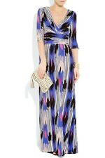 ALICE BY TEMPERLEY Mexican printed jersey maxi dress SIZE 8 UK RRP £ 375