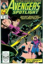 Avengers Spotlight # 24 (Hawkeye, Firebird) (USA, 1989)