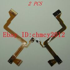 2PCS LCD Flex Cable For Panasonic SDR-H80 SDR-H90 SDR-S26 GK Video Camera