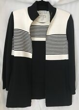 St John Sport Sweater Twin Set Size XP