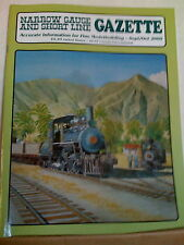 NARROW GAUGE & SHORT LINE GAZETTE Sept/Oct 2000  NG&SLG
