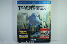 TRANSFORMERS DARK OF THE MOON 3D BLU RAY disc NEW SEALED