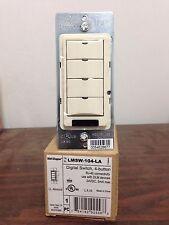 Watt Stopper 4-Button Digital Wall Switch LMSW-104-LA