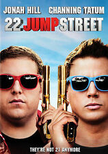 22 Jump Street (DVD, 2014, Includes Digital Copy; UltraViolet) NEW