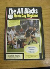 19/10/1991 Rugby Union Programme: Neath v Coventry (some folding).  We are pleas