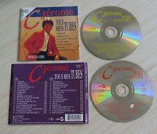 2 CD (NO BOX SANS BOITE) C JEROME TOUS MES TUBES  36 TITRES BEST OF