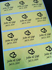 60 Clear/Silver/Gold Lovely Hearts Labels-Invitation,Envelope Seals,Favor Gifts