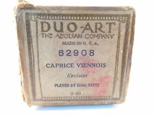 CAPRICE VIENNOIS - DUO-ART  Player Piano Roll 62908 - Played by Erno Rapee