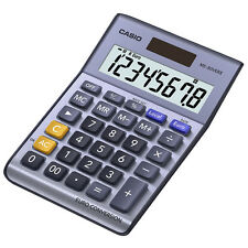 Casio MS80VER II Solar 8-Digit Student Office Desk Currency Converter Calculator