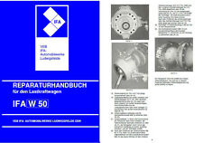 W 50 W50 REPARATURHANDBUCH IFA KEIN L60 IFA L 60 ROBUR DDR