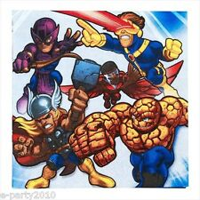 MARVEL SUPER HERO SQUAD LARGE NAPKINS (16) ~ Birthday Party Supplies Luncheon