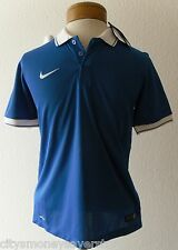 NWT Nike Laser II Youth Boys Soccer Jersey L Royal Blue/White MSRP$65