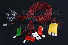 New 8-LED LED Flashing Light bulb System for RC Helicopter Plane Glider boat