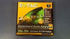 Zotac GeForce 6100-Value motherboard, designed for AMD Sempron, Athlon, Phenom