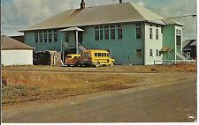 Long Beach GRADE SCHOOL House One Room 1890 - 1965 CALIFORNIA Postcard CA