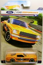 1965 '65 FORD MUSTANG 2+2 FASTBACK FORD PERFORMANCE 1/8 HOT WHEELS DIECAST 2016