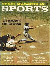 Sept. 1961 Great Moments in Sports magazine Willie Mays cover EX.