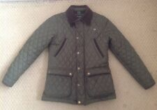Hackett Boys 11 - 12 Years Authentic Paddock Coat Green Excellent Used Condition