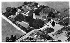Basildon Church Air Aerial View unused RP old pc  Aerofilms