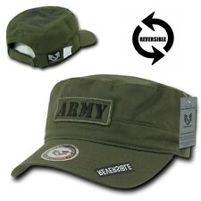 Olive United States Army Star US Military Embroidered Baseball Cadet Cap Hat