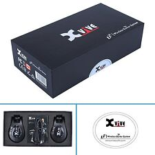 Xvive U2 rechargeable 2.4GHZ Audio Wireless Guitar / Instrument System - Black