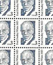1994 - DR. PAUL DUDLEY WHITE - #2170s Mint -MNH- Sheet of 100 Postage Stamps