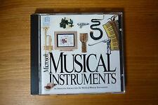 Strumenti MUSICALI Microsoft PC CD-ROM 1993