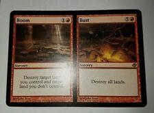 1x Boom // Bust - Planar Chaos Mtg Magic Red Rare nmx1