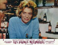 MELINA MERCOURI LES PIANOS MECANIQUES 1965 VINTAGE PHOTO LOBBY CARD N°1