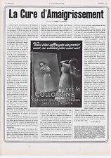 PUBLICITE ADVERTISING 054 1911 COLLOIDINE Cure d'Amaigrissement
