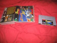 SNES Super Nintendo R-Type III The Third Lightning Rtype 3