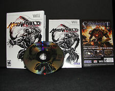 MadWorld for Nintendo Wii Complete w/ Disc, Manual,& Box FANTASTIC CONDITION!