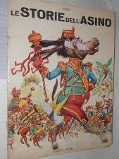LE STORIE DELL ASINO Esopo Europea Editrice Classica Mondiale 1967 narrativa di