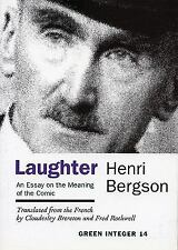 Green Integer: Laughter : An Essay on the Meaning of the Comic No. 14 by...