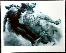 "Paul Goodnight  ""Heads Up"" Limited Edition Lithograph men's Soccer"