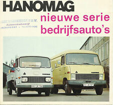 Hanomag Van Truck F 20 25 30 35 F 45 55 65 66 75 Brochure 8 Page Fold Out