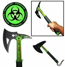 "16"" ZOMBIE SURVIVAL CAMPING TOMAHAWK THROWING AXE BATTLE Hatchet hunting ZN40"