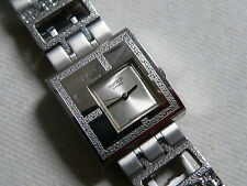 2008  Swatch Watch  for Women Irony  Square Mirror Time YUS100