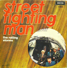 "THE ROLLING STONES ""STREET FIGHTING MAN""  7' Italy COVER ONLY"