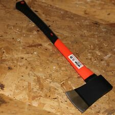 NEW 4lb Steel Head Felling Chopper Axe Orange Fibreglass shaft